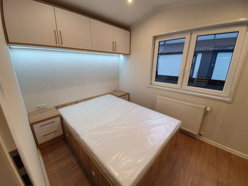 "New mobile home ""Catania"" for sale, 35 m². Sizes: 10 × 3.5 m. Area: 35 m². Rooms: 3. Sleeping places: 6. #15"