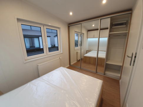 "New mobile home ""Catania"" for sale, 35 m². Sizes: 10 × 3.5 m. Area: 35 m². Rooms: 3. Sleeping places: 6. #16"