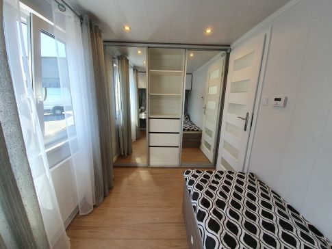 "New mobile home ""Bordeaux"" for sale, 48 m². Sizes: 12 × 4 m. Area: 48 m². Rooms: 3. Sleeping places: 6. #12"