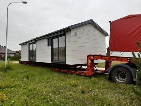 "New mobile home ""Lisbon"" for sale 48, m². Sizes: 12 × 4 m. Area: 48 m². Rooms: 4. Sleeping places: 8. #2"