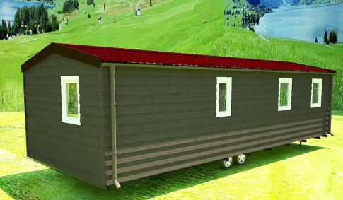 "New mobile home ""Sicily"" for sale, 37 m². Sizes: 10 × 3.9 m. Area: 39 m². Rooms: 2. Sleeping places: 4. #3"